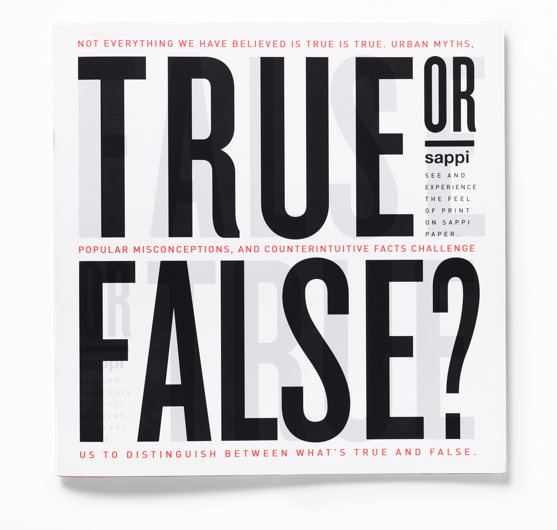 True or False? book